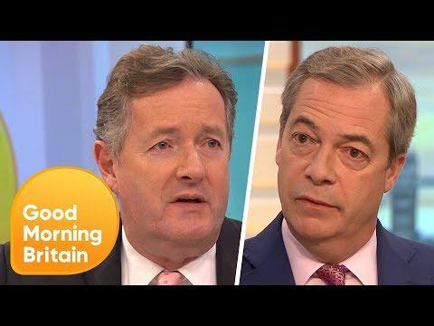 Nigel Farage Says the UK 'Morally Owes' the EU £25 Billion | Good Morning Britain