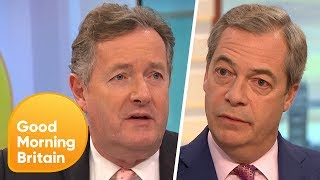 Nigel Farage Says the UK 'Morally Owes' the EU £25 Billion | Good Morning Britain