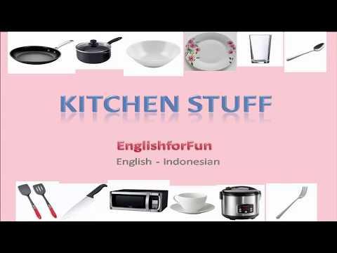 Belajar Bahasa Inggris Peralatan Dapur   Learn About Kitchen Stuff In English