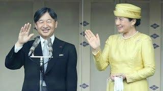 即位後初の一般参賀 陛下「世界の平和と発展願う」
