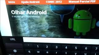 Smart TV com Teclado e Mouse