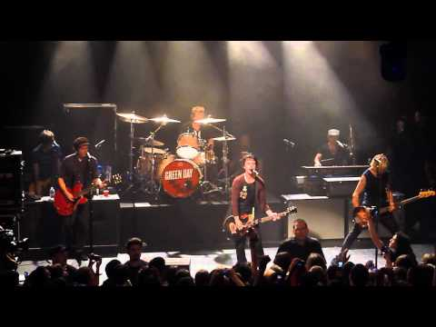 Green Day - Wake Me Up When September Ends @ Irving Plaza in NYC 9/15/12
