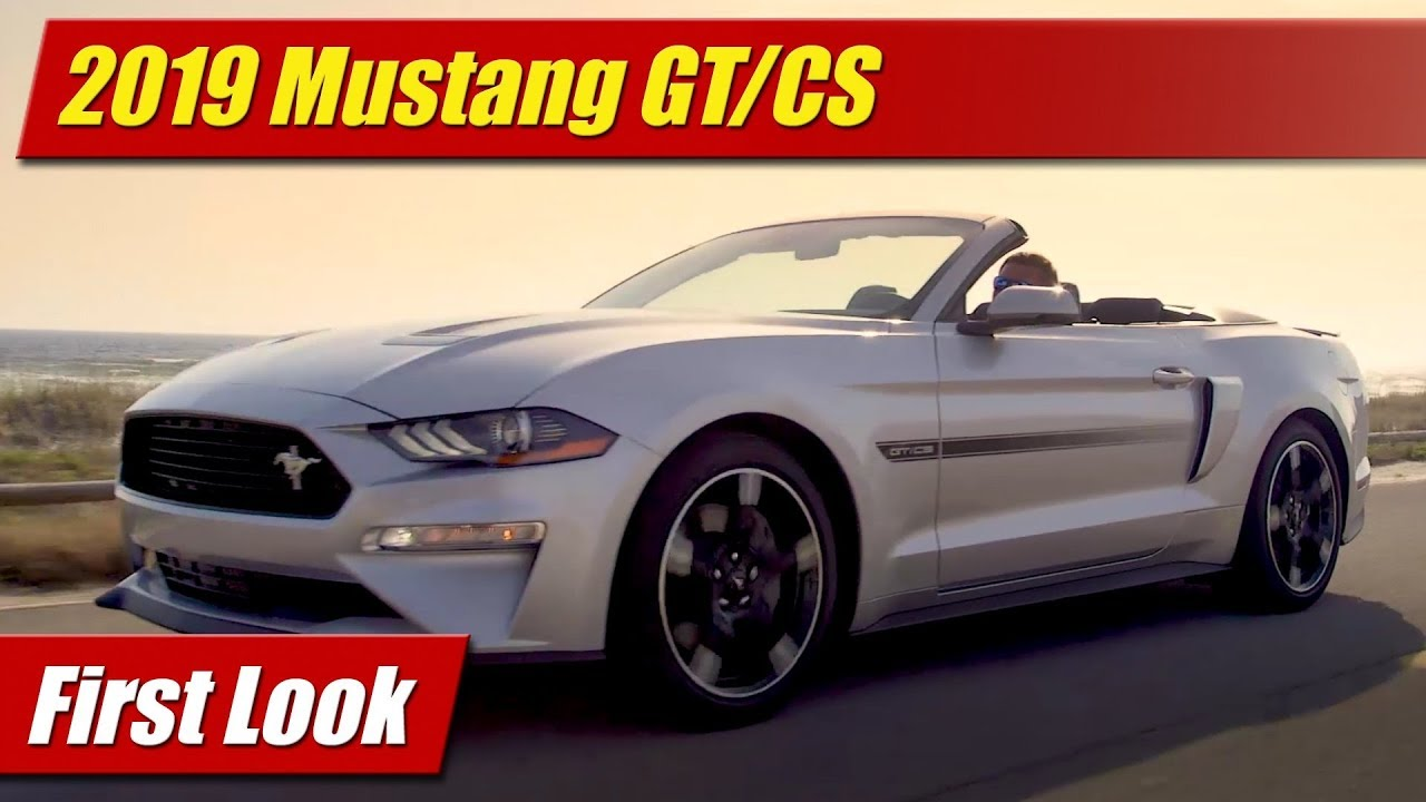 2019 ford mustang gt cs california special first look