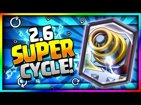 INSANE 2.6 SUPER FAST CYCLE SPARKY DECK!! SPARKY SUPER CYCLE!! - Clash Royale