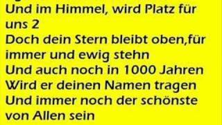 DJ Otzi i Nik P - Eine Stern (KARAOKE)