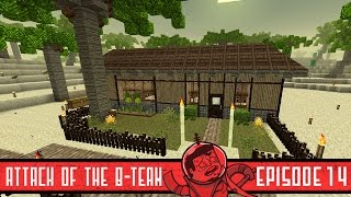 Minecraft Beach House - Attack of the B-Team - 14