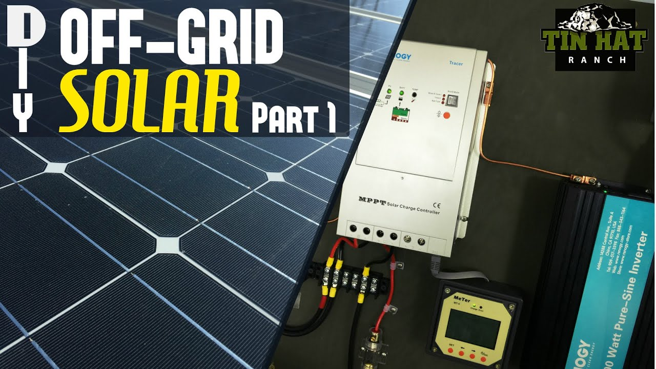 100 Watt Solar Panel Disconnect Wiring Diagram Diy How To Understand And Size Your Off Grid Solar Power
