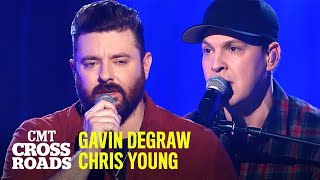 Gavin DeGraw & Chris Young Perform 'Drowning' | CMT Crossroads