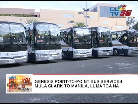 Genesis Point-to-Point bus services mula Clark to Manila, lumarga na | CLTV36