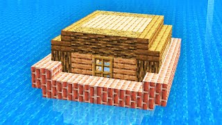 How To Make A FLOATING Minecraft House!