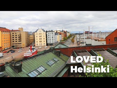 LOVED Helsinki, Finland - Travel Vlog Day #79