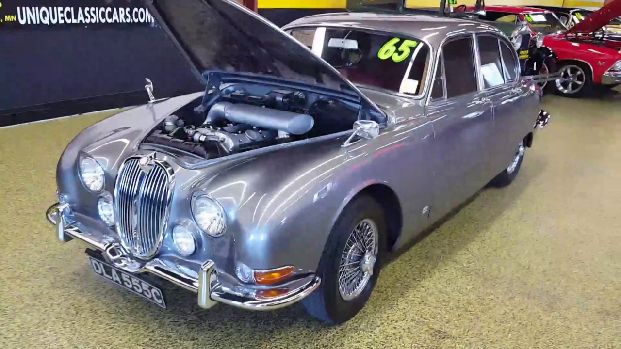 1965 jaguar mk2 3.8 s for sale - youtube