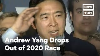 Andrew Yang Speaks After Dropping Out of 2020 Race | NowThis