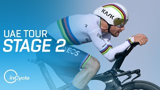 UAE Tour 2021 | Stage 2 Highlights | inCycle
