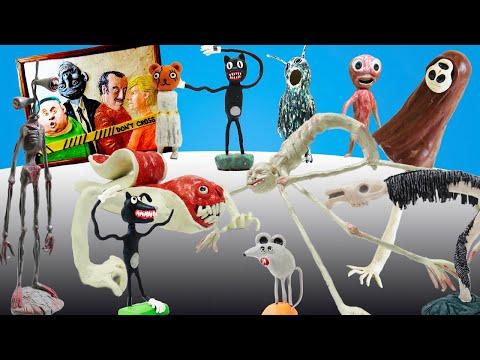 Все Творения Тревора Хендерсона готовятся к противостоянию с SCP - Лепка Horror Show
