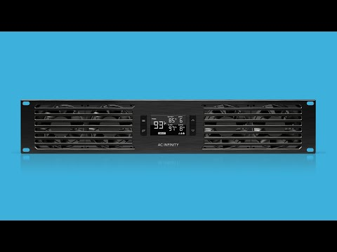 CLOUDPLATE SERIES - Rack Fan Systems With Smart Programming