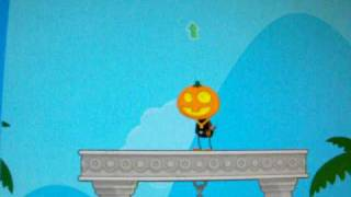 How to Wear a pumkin masks and fly on any island!