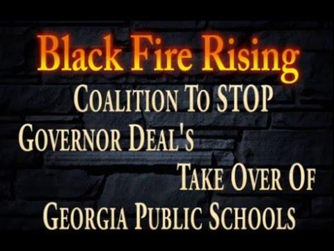 """Black Fire Rising TV With (Chris Bauman) E.D Of """"GAE"""" Georgia Association Of Educators"""