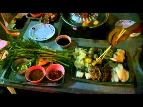 Thai  Barbecue Buffet (149 baht), Udon Thani (ตะแกรงย่าง กินไม่อั้น อุดรธานี)