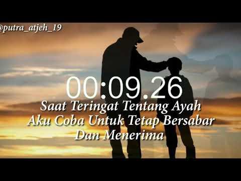 Story WA Titip Rindu Buat Ayah😭