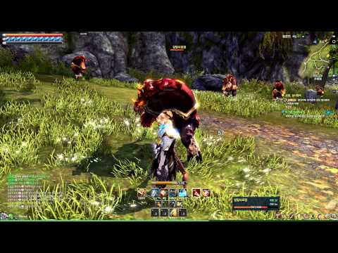 Blade & Soul Online Low Level 20 Blade Master Gameplay