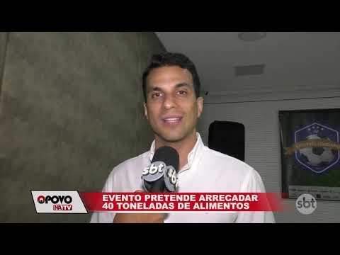 O Povo na TV: Futebol solidário reúne artistas para arrecadar alimentos