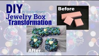 Jewelry Box Transformation/DIY/Veteran Couture/Carolina Hernandez