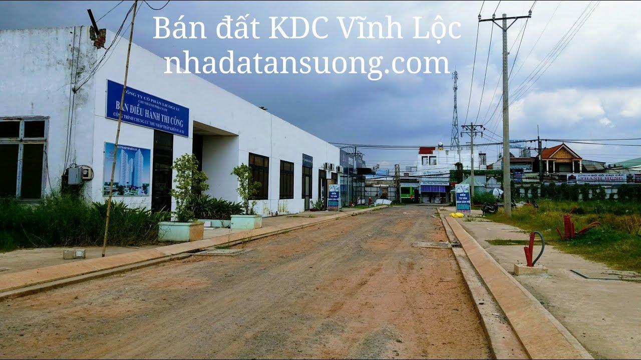 Bán đất khu dân cư KDC Vĩnh Lộc D'Gold
