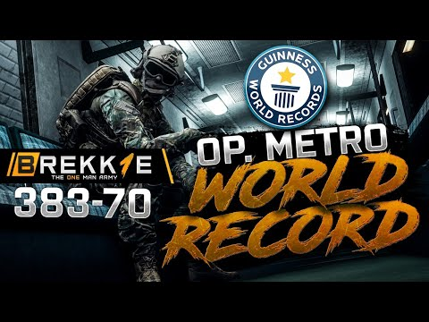 BF4: Operation Metro - record 383-70 - Twitch Highlight - Record gameplay