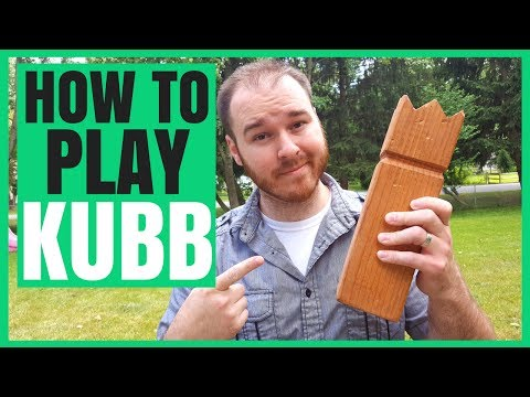 This is a picture of Kubb Rules Printable regarding kubb viking chess