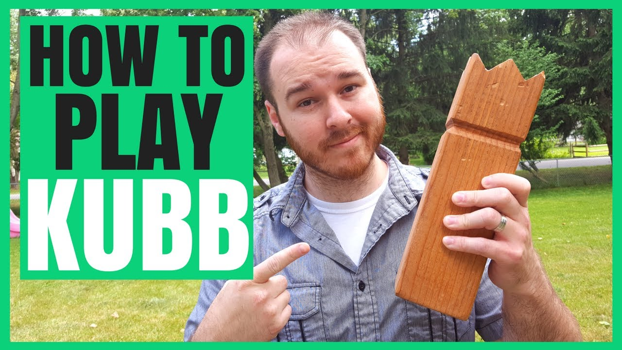 How to Play Kubb Lawn Game | Rules, Strategy and More - YouTube