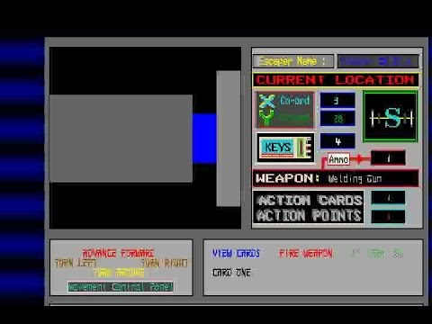 AMIGA Chainsaw Death AGA PLAY 1990 Disklexia Developments AMOS Public Domain Library PD AMOS adf