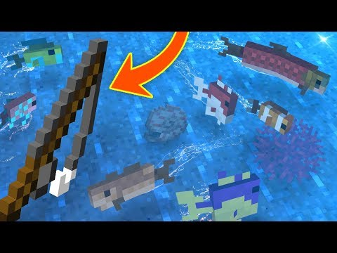Everything You Need To Know About FISHING In Minecraft!