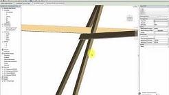 Aufwändige Tragwerke einfacher erstellen   Kopfbandkonstruktion