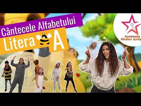 Claudia Pavel feat A.M.A  - Albina Are Aripi Albe (Litera A)   Cântecele Alfabetului