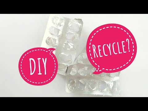 How To Recycle Medicine Wrapper