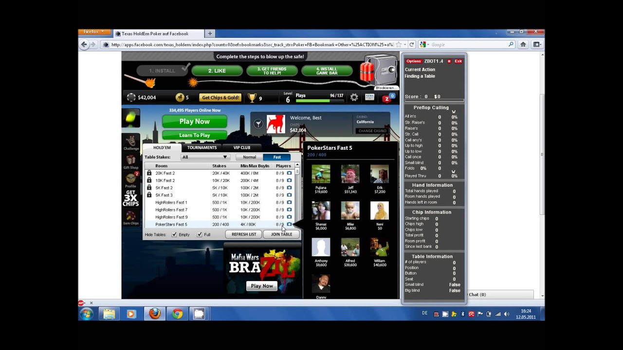 Zynga poker bot download free furniture stores that sell poker tables