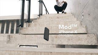iPhone X Drop Test with RhinoShield Mod™ Case