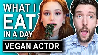 Nutritionist Reviews | Vegan Actress's What I Eat In A Day (NOT GOOD)!