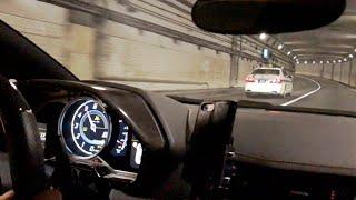 【車載】パワークラフトアヴェンタドール 加速 シフトダウン サウンド/Onboard Aventador w/PowerCraft exhaust. Shiftdown, Pops, Tunnel❕