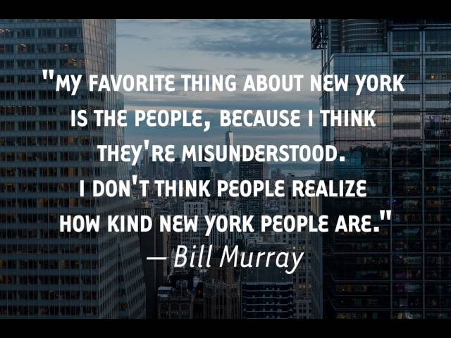 The Best Quotes About Nyc The People Who Live In It Gothamist