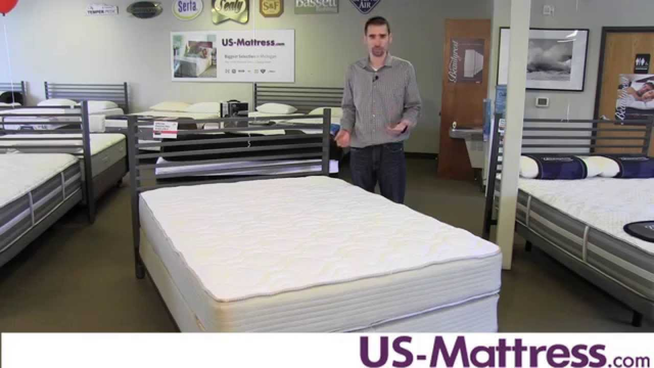 restonic comfort care andover firm double sided mattress