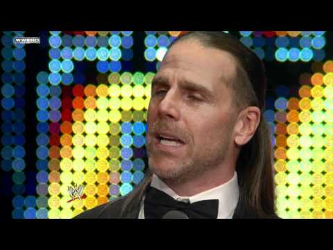 Hall of Fame: Shawn Michaels speaks at the...