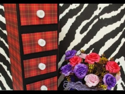 DIY #70 | Mini Drawer For Accessories ♥