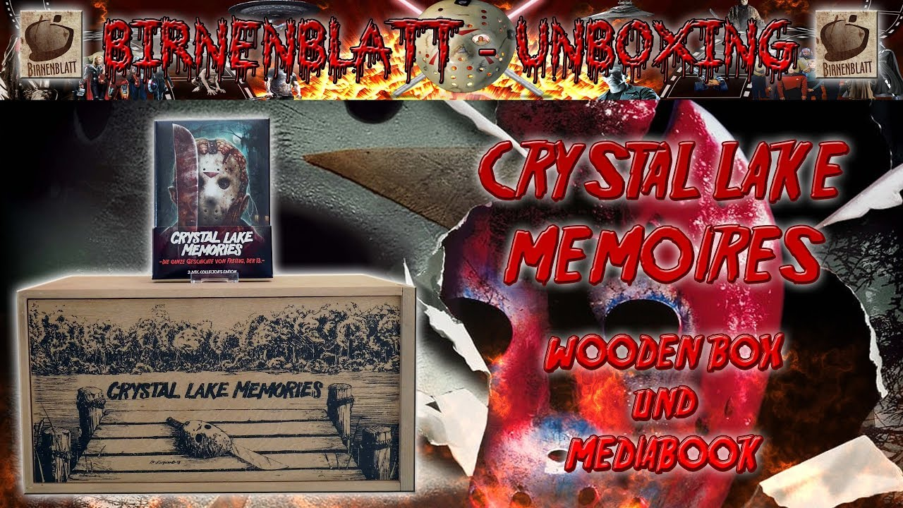 Crystal Lake Memories Book