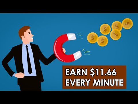 Earn $11.66 Every Minute Right Now (Proof)