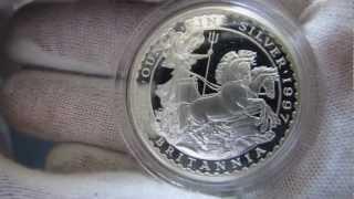 [HD] 1997 Proof Britannia - 1 oz Silver Coin - The Royal Mint