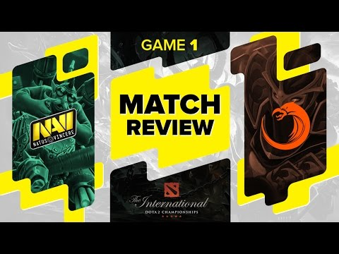 MATCH REVIEW: Na`Vi vs TNC Gaming - Game 1 @ The International 6