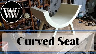 Curved sitter Stool