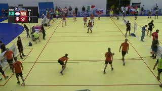 Nederland  - Zwitserland mixed EK Glasgow 2017